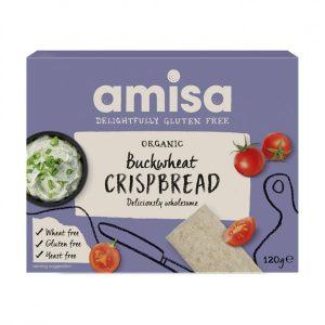 Amisa Buckwheat Crispbread 120g