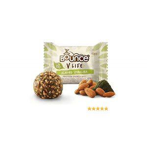 Bounce V-Life Spirulina and Almond 40g