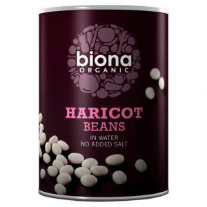 Biona Haricot beans 400g