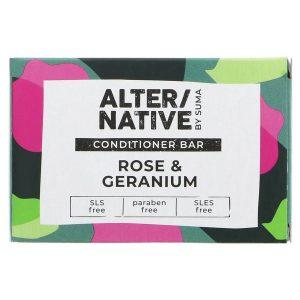 Alternative Rose and Geranium Conditioner Bar 90g