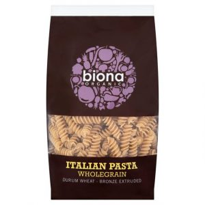 Biona Wholewheat Fusilli 500g