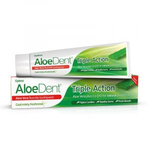 Aloe Dent Triple Action Toothpaste 100ml