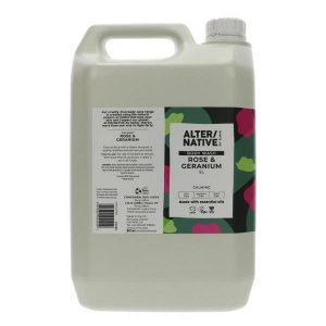 AlterNative Rose and Geranium Body Wash 5L