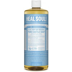 Dr Bronner Liquid Castille Soap 946ml