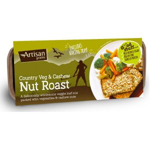 Artisan Grains Veg and Cashew Nut Roast 200g