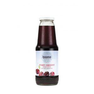 Biona Tart Cherry Pure Juice 1l