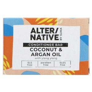 Alternative Coconut and Argan Oil Conditioner Bar 90g