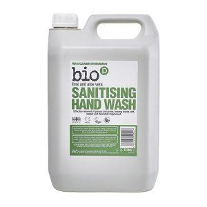 Bio D Lime and Aloe Vera Handwash 5lt