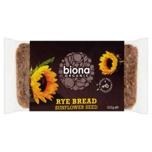 Biona Rye and Sunflower Bread 500g