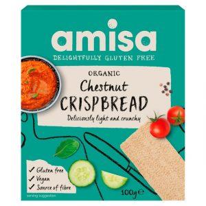 Amisa Chestnut Crispbread 100g