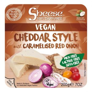 Bute Cheddar Style with Onion 200g