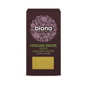Biona Lasagne White Pasta 250g