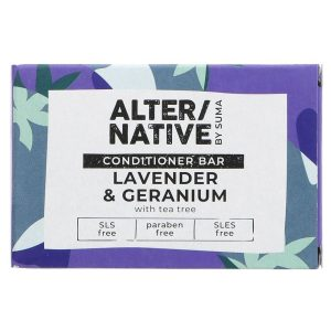 Alternative Lavender and Geranium Conditioner Bar 90g
