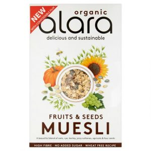 Alara Organic Fruits and Seeds Muesli 650g