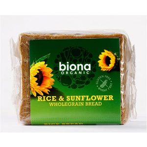 Biona Rice and Sunflower Bread 500g