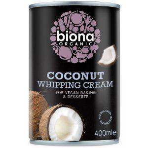 Biona Org Coconut Whipping Cream 400ml