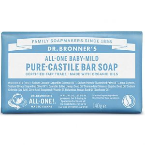 Dr Bronners Baby Soap 140g