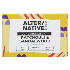 Alternative Patchouli and Sandalwood Conditioner Bar 90g