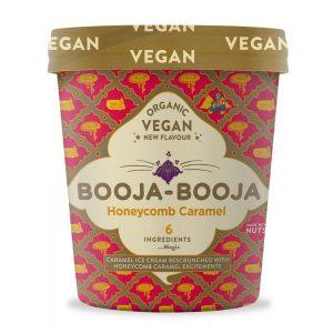 Booja Booja Organic Honeycomb Caramel 500ml
