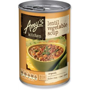 Amys Kitchen Lentil Veg Soup 400g