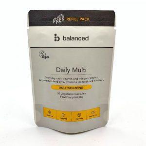 Balanced Daily MultiVit Refill Pouch 30 Caps
