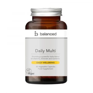 Balanced Daily MultiVit 30 Caps Jar