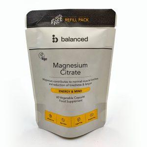 Balanced Magnesium Citrate Refill 60 caps