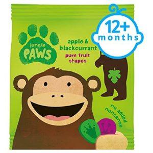 Bear Jungle Paws Apple and Blackcurrant 20g