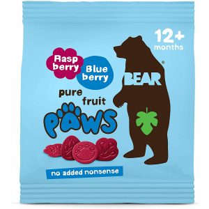 Bear Arctic Paws Raspberry and Blueberry 20g
