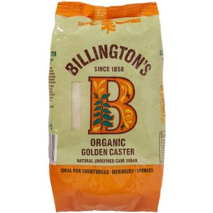 Billingtons Organic Golden Caster Sugar 500g