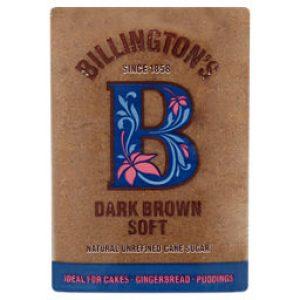 Billingtons Dark Brown Soft Sugar Fair Trade 500g