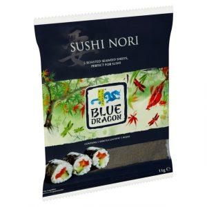 Blue Dragon Sushi Nori 5 Sheets