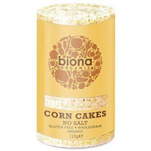 Biona Org No Salt Corn Cakes