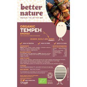 Better Nature Smoked Organic Tempeh 170g