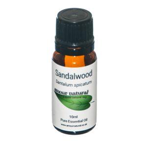 Amour Natural Sandalwood 10ml
