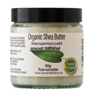 Amour Natural Organic Shea Butter 80g